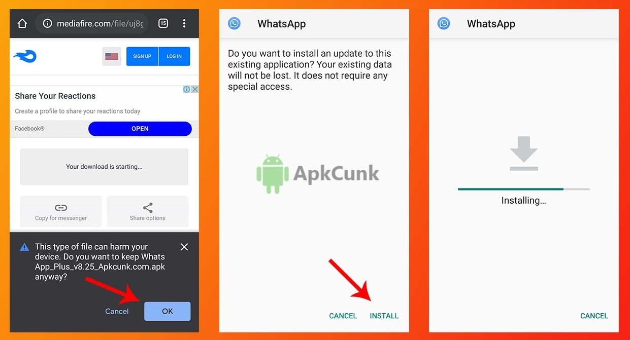 Whatsapp Plus Screenshots