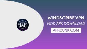 Windscribe VPN MOD APK