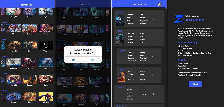 Zolaxis Patcher Screenshots